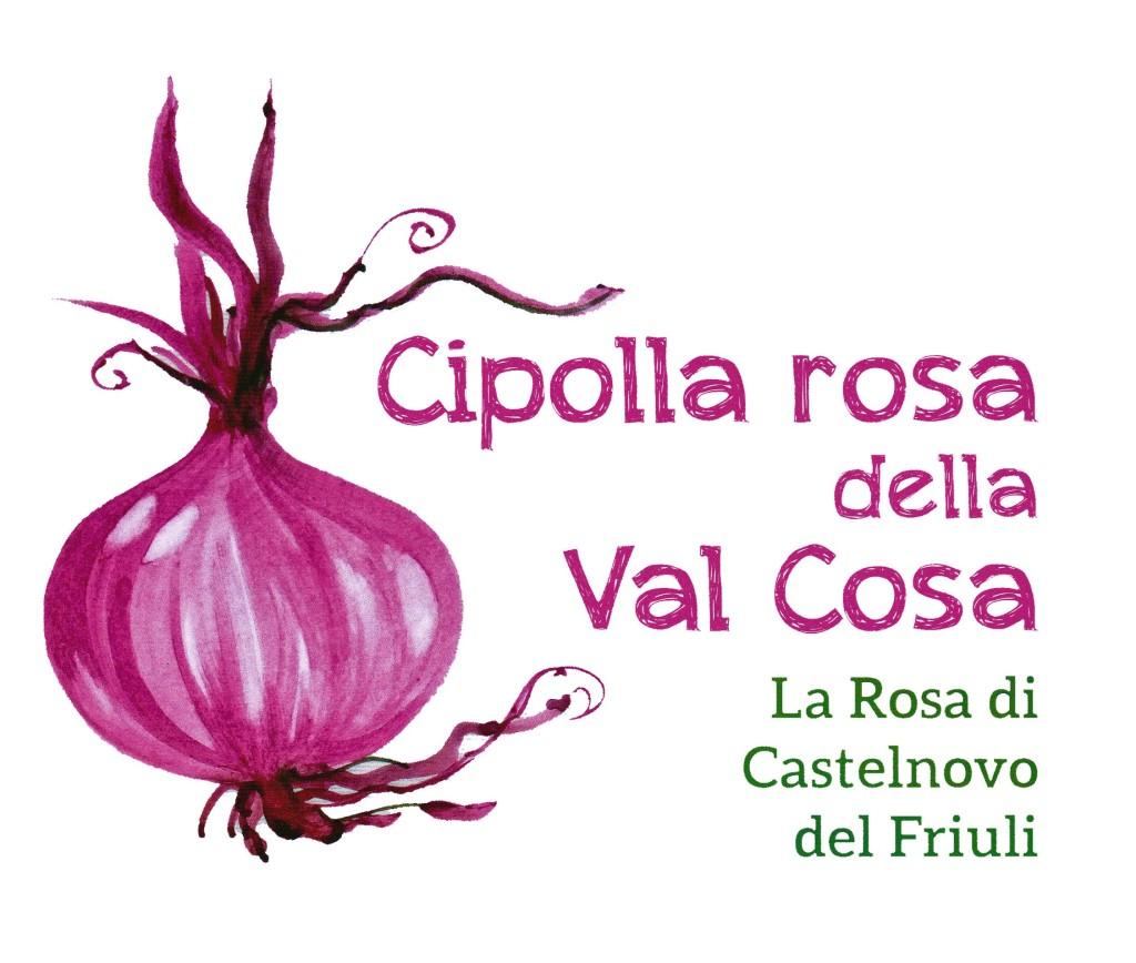 Marchio Cipolla Rosa della Valcosa - La Rosa di Castelnovo